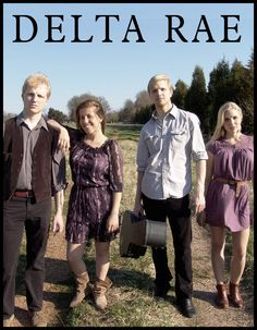 """Delta Rae is amazing. Another ACL """"new-to-me"""" band. Delightfully enjoyable!"""
