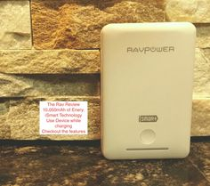 i-Smart Charger/RavPower Deluxe Series battery charger.  Portable charger for CellPhones, Android or iPhone and Tablets.