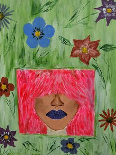"""Flowers in my hair"" Andreea Matusoiu"