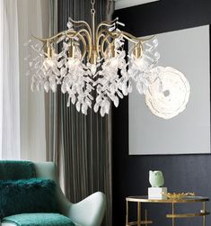 This Antique Brass Crystal Chandelier is inspired by an Asian willow tree with many branches and infusions. It expresses a feeling of freedom and the art of random. The Crystal chandelier lighting is composed by a large metal or copper frame and a number of high quality China K9 crystals. Antique Brass Chandelier, Crystal Chandelier Lighting, Copper Frame, Willow Tree, Ceramic Vase, Branches, Contemporary Design, Beautiful Homes, Freedom