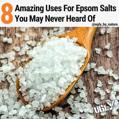 An Epsom salts bath can promote detoxification through the skin and they are tra Epsom Salt Foot Soak, Epsom Salt Bath, Epsom Salt For Hair, Salt Hair, Epsom Salt Cleanse, Cold Treatment, Magnesium Sulfate, Homemade Skin Care, Best Face Products