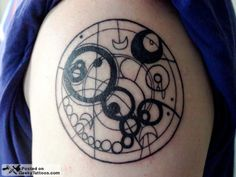 Gallifreyan tattoos!