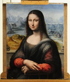 This photo shows a view of an authenticated contemporary copy of Leonardo da Vinci's Mona Lisa presented at the Prado Museum on Wednesday, Feb. Description from chinapost.com.tw. I searched for this on bing.com/images