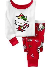 Hello Kitty® Holiday PJ Sets for Baby