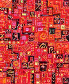"Saatchi Art Artist Krzysztof Pajak; Painting, ""fauna labyrinth "" #art"