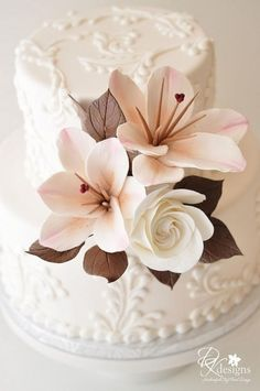 Pasteles de boda especiales ♥ Wedding Cake Design