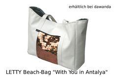"Strandtasche ""With You in Antalya""  LETTY, Beach-Bag, Tasche, Dawanda"
