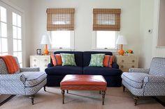 Phillips deVeer Interiors Colors & fabrics