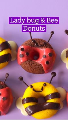 Fun Baking Recipes, Donut Recipes, Dessert Recipes, Cooking Recipes, Donuts, Cute Food, Yummy Food, Tastemade Recipes, Cake Decorating Frosting