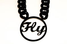 A Fly Girl Necklace for Fly Girl!