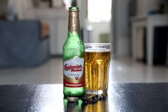 "The original Budvar Budweiser, from which our massive American brewery hijacked its name. To my palate, there wasn't much difference from what I was used to. Interestingly, one Brit I encountered was under the impression that ""all American beer"" was like a watered down version of this. Despite the major influence the American craft beer market has had here and overseas, it's still a seemingly small piece of the beer pie."