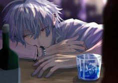 Dark Anime Guys, Cool Anime Guys, Handsome Anime Guys, Anime Oc, Manga Anime, Image Manga, Happy Tree Friends, Estilo Anime, Anime Scenery