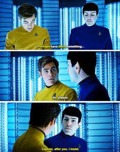 Star Trek Beyond || Kirk & Spock