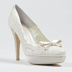 menbur 5115-troya ivory  Wedding Shoes