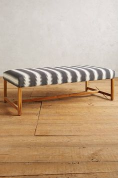 Woven Taviano Bench - at foot of bed? or as divider?
