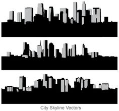 City skyline. Free vector illustration . More Free Vector Graphics, www.123freevectors.com