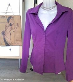 Elegante Business Bluse von Comma in einem angenehmen LILA Ton♥ Marke COMMA…