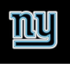 New York Giants NFL Neon Sign
