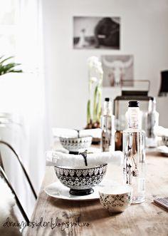 Draumesidene: Fridaytable in the livingroom
