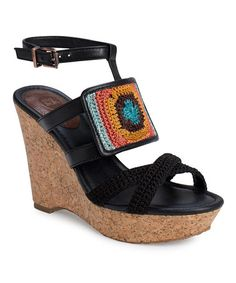 Take a look at this Zen Stripe Mindy Wedge by The Sak on #zulily today!