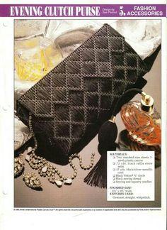 Evening clutch purse