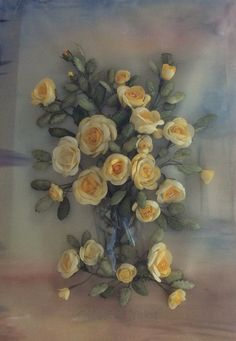 Koza işi / Silk Cocoon Flowers Paper Beads, Paper Flowers, Card Making, Paper Crafts, Ribbon, Painting, Art, Ideas, Tape
