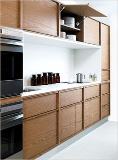 Design Within Reach is introducing a line of kitchen components positioned between high-end European cabinetry and low-cost Ikea options.