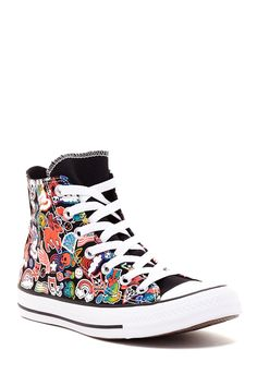 Chuck Taylor Printed High Top Sneaker by Converse on @nordstrom_rack