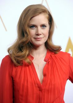 Amy Adams at the Academy Awards Nominee Luncheon