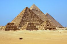 Egito - Engenheiro diz ter descoberto o segredo da construção das pirâmides egípcias;