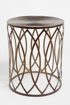 Concentric Metal Side Table. UO. Also consideration for guest room night stand.