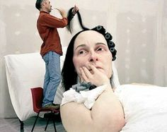 Ron Mueck working :)