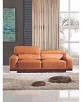 Furniture Shopping 101. Orange Leather ...