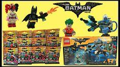 Batman Lego Minifigures, Mr. Freeze Ice Attack, Harley Quinn, Batman Mov...