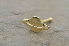 Pierced Owl Gold Plated Bumble Bee Nose Bone Stud