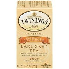 Twinings Earl Grey Decaf: ♥♥♥♥