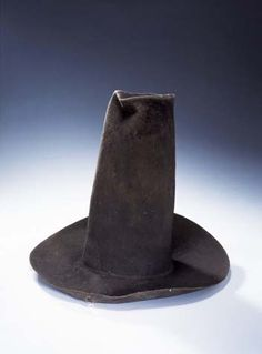 Felt hat, 1600-1625, Victoria and Albert Museum, London