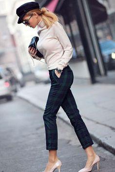 秋ファッションに欠かせない「チェック柄」のおしゃれなコーディネート - NAVER まとめ