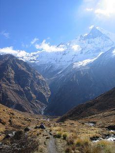 Nepal- Annapurna trek - Another bucket list to trek the Himalayas.