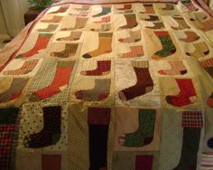 lost socks quilt - Would be fun to make out of actual unmatched socks.