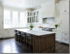 Same kitchen, different view, designed by Jim Howard
