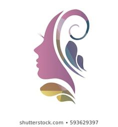 Woman Silhouette Face Hair Images, Stock Photos & Vectors - Belezza,animales , salud animal y mas Woman Face Silhouette, Silhouette Images, Silhouette Vector, Skin Logo, Logo Face, Cosmetic Logo, Beauty Salon Decor, Beauty Logo, Logo Design Inspiration