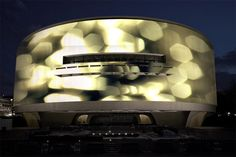 360 degree projection installation by Doug Aitken @ Hirschorn in DC