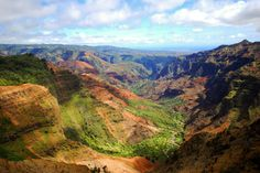 Known as the 'Grand Canyon of the Pacific', Waimea Canyon State Park is impressively large and as beautiful as everything else in Hawaii. The canyon itself is about 10 miles (16 km) long and 3,000 feet (914 m) deep, and is a rather popular area for hiking.