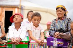 Operation Christmas Child in Mongolia