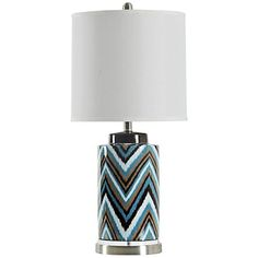 Wintour Gloster Zigzag Table Lamp
