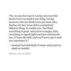 This is my life. I didn't think anyone else could say how I feel so closely. it's a living hell. Now Quotes, Breakup Quotes, True Quotes, Words Quotes, Quotes To Live By, Sayings, Deep Love Quotes, Love Loss Quotes, Long Deep Quotes