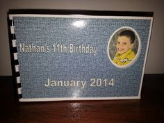Awesome deal.....  Birthday Autograph keepsake party Book favor by maeNjack on Etsy, $10.00