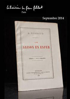 """September 2014 """"Le Feu Follet a le plaisir de vous présenter son catalogue d'éditions originales du mois de septembre..."""""""