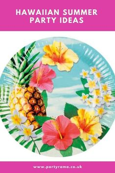 Celebrate a birthday, garden party or anniversary this year Hawaiian style with our collection of plates, tableware and decorations in a Hawaiian themed print that will add a pop of colour to your house or garden. Summer Parties, Hawaiian, Party Supplies, Special Occasion, Bbq, Paradise, Anniversary, Party Ideas, Decorations